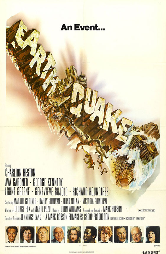 Earthquake Poster