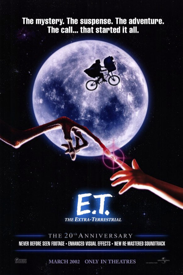 E.T.: The Extra-Terrestrial Poster #2