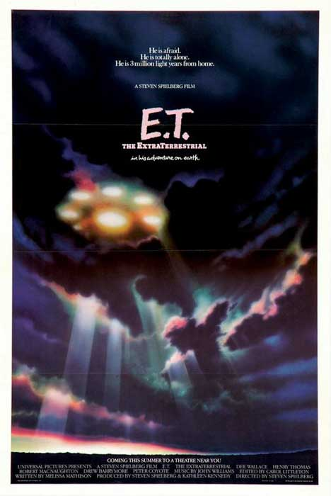 E.T.: The Extra-Terrestrial Poster #1