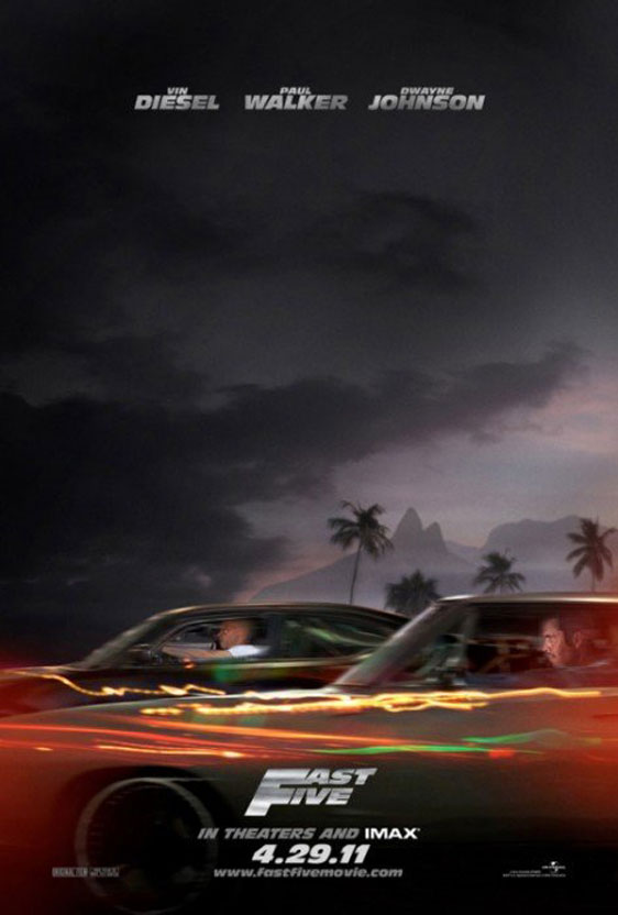 Fast Five Poster #2