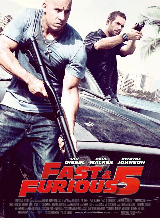 Fast Five Poster #3