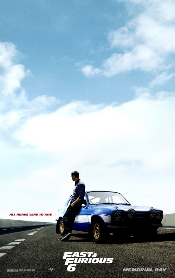 Fast & Furious 6 Poster #2
