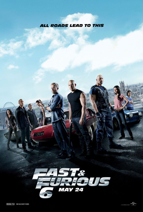 Fast & Furious 6 Poster #3