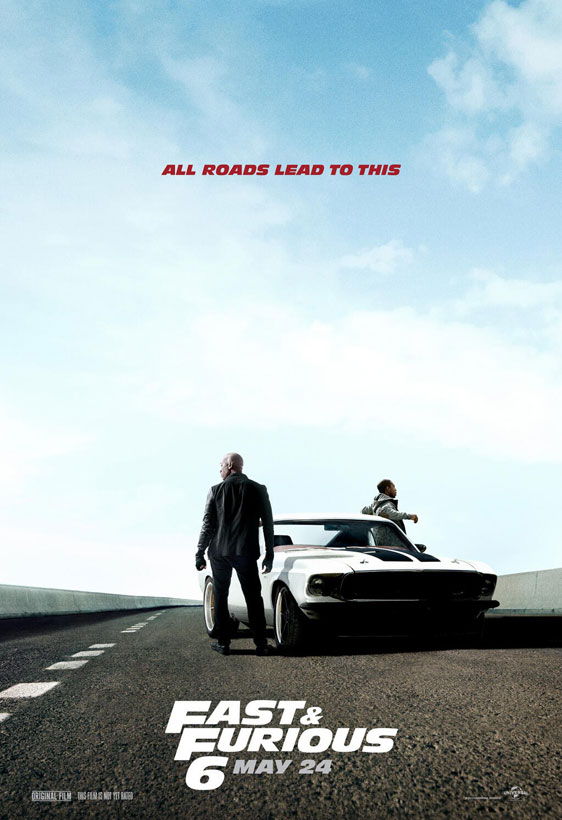 Fast & Furious 6 Poster #5