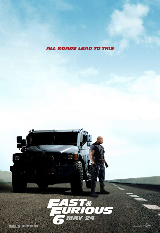 Fast & Furious 6 Poster #6
