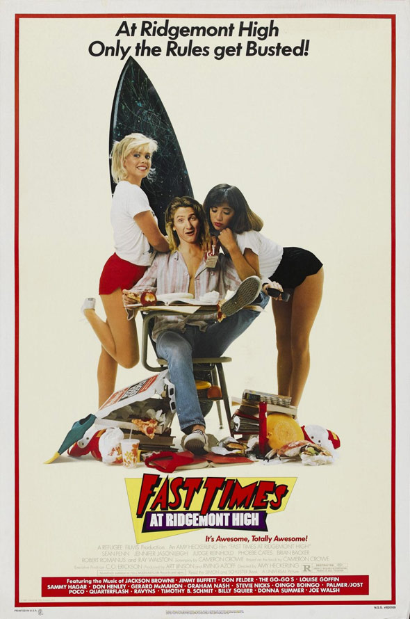 Fast Times at Ridgemont High Poster #1