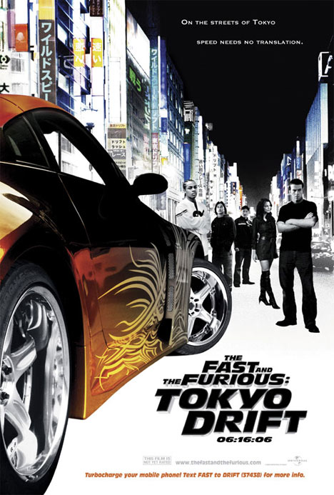 The Fast and the Furious: Tokyo Drift Poster
