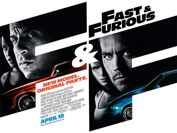 Fast & Furious Poster #4