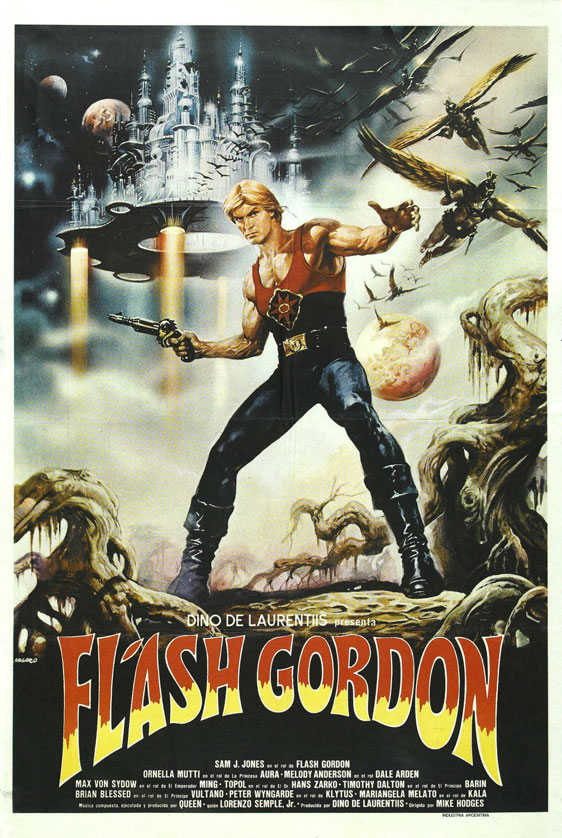 Flash Gordon Poster #2