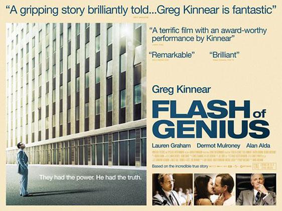 Flash of Genius Poster #2
