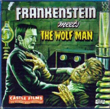 Frankenstein Meets the Wolf Man Poster #3