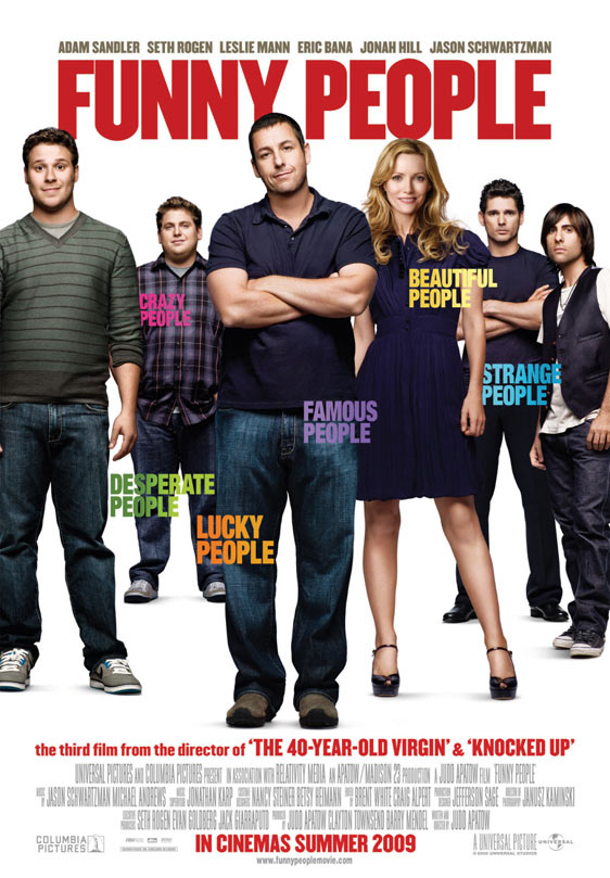 Funny People Poster #2