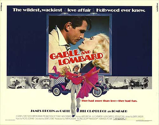 Gable and Lombard Poster