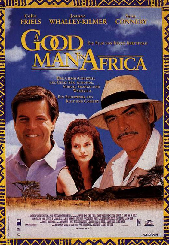 A Good Man in Africa Poster #2