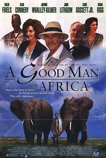 A Good Man in Africa Poster #1