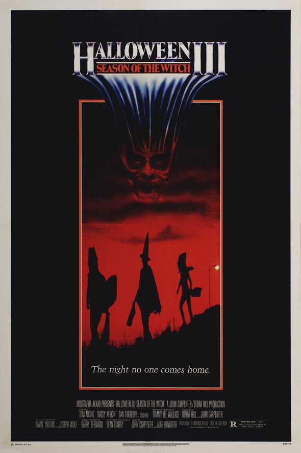 Halloween III: Season of the Witch Poster #1