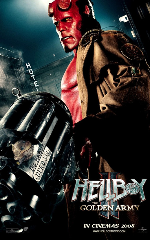 Hellboy II: The Golden Army Poster #10