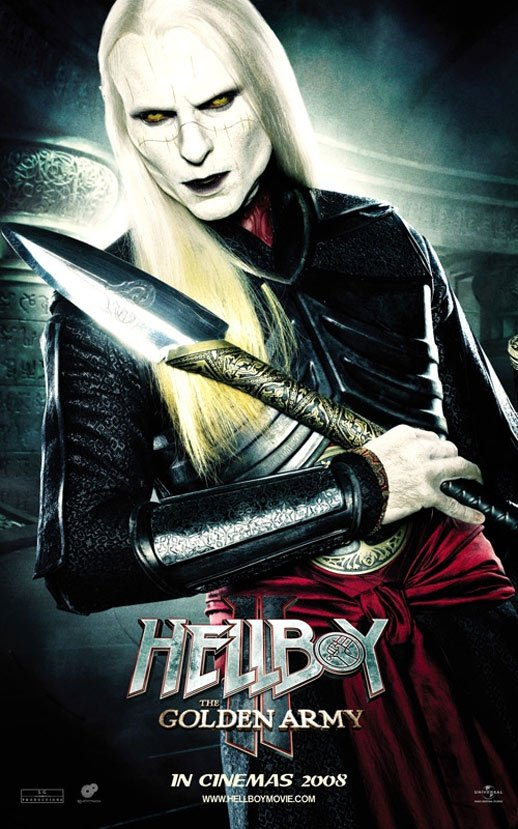Hellboy II: The Golden Army Poster #11