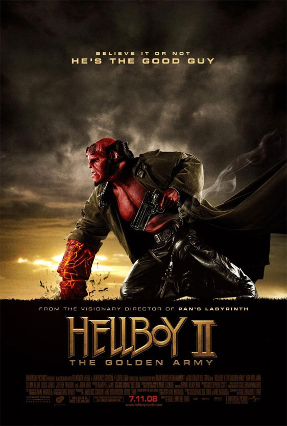 Hellboy II: The Golden Army Poster #14