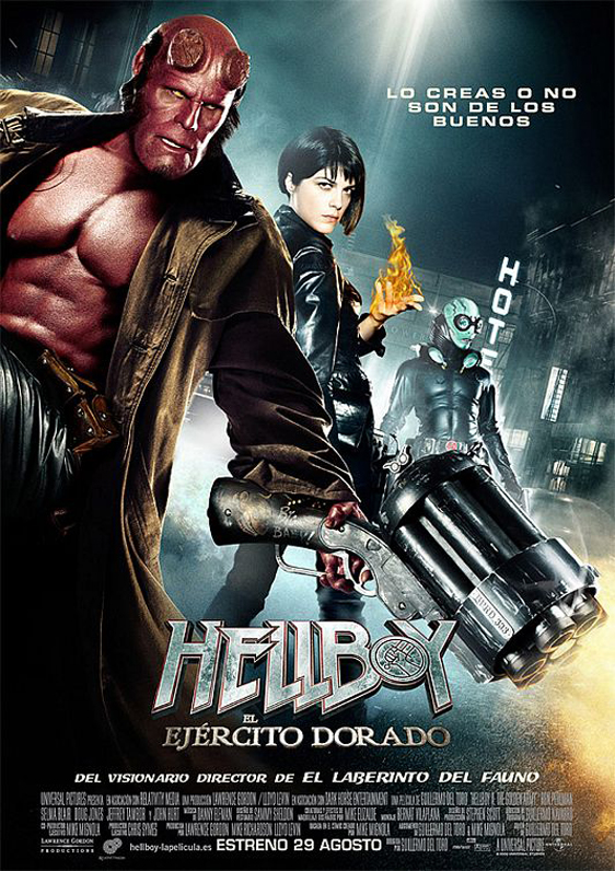 Hellboy II: The Golden Army Poster #18