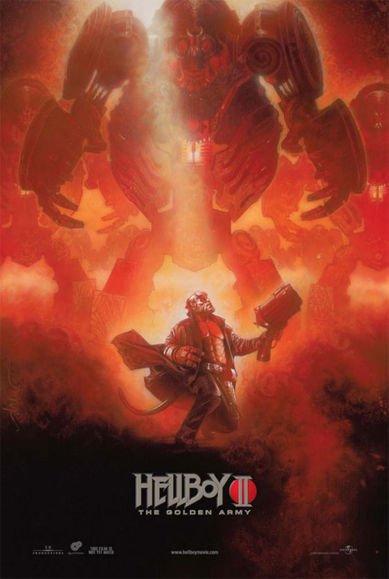 Hellboy II: The Golden Army Poster #2