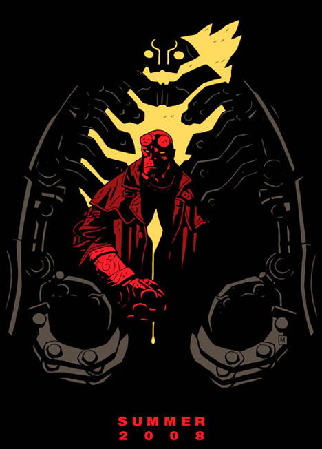 Hellboy II: The Golden Army Poster #5