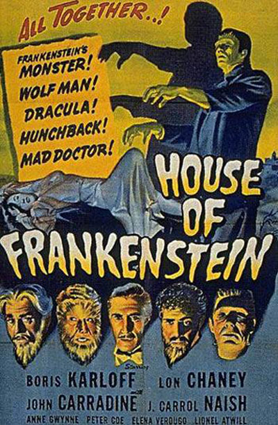 House of Frankenstein Poster #1