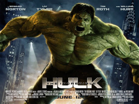 The Incredible Hulk Poster #2