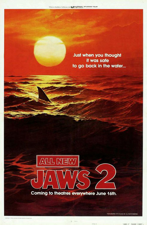 Jaws 2 Poster #2