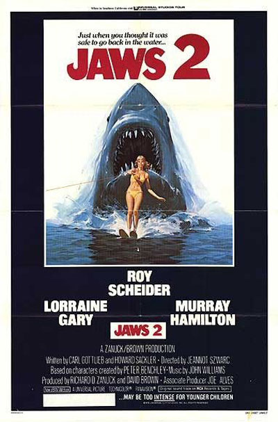 Jaws 2 Poster #1