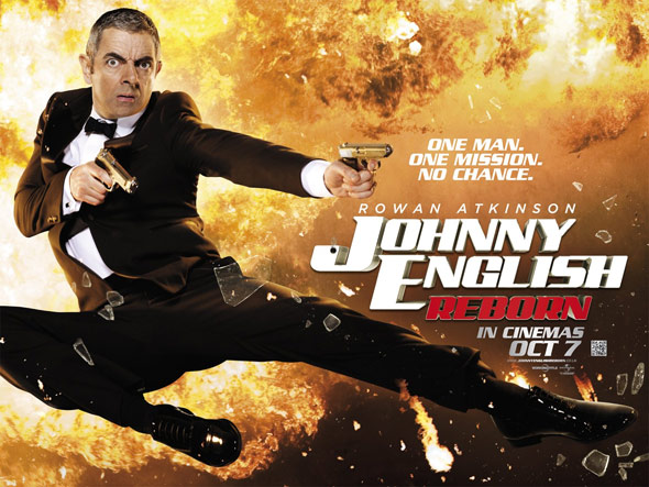 Johnny English Reborn Poster #3