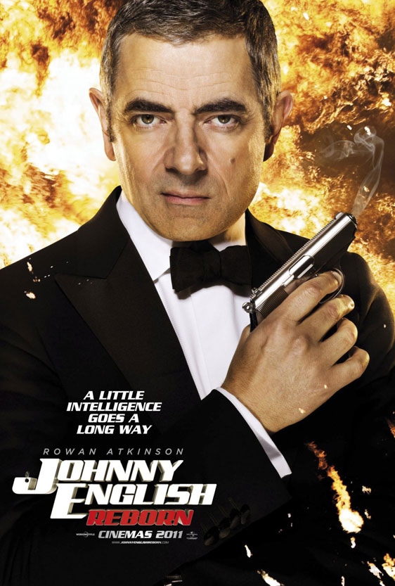 Johnny English Reborn Poster #1