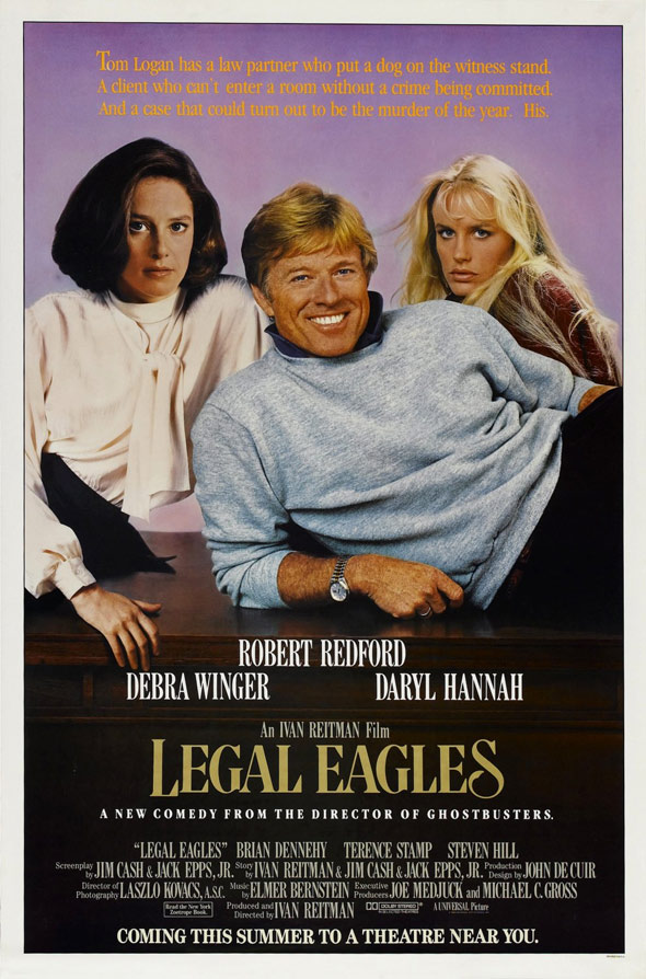 Legal Eagles Poster
