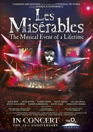 Les Misérables 25th Anniversary Poster