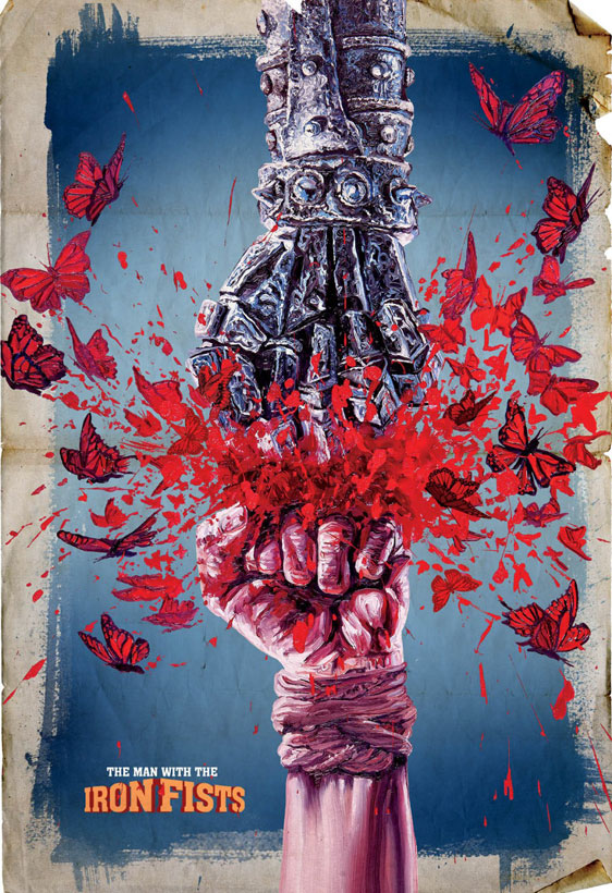 The Man with the Iron Fists Poster #6