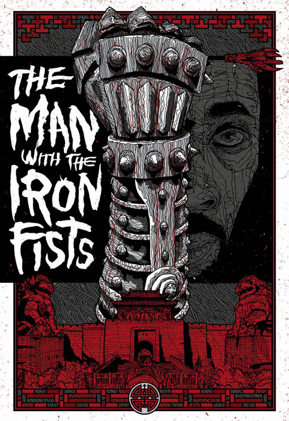 The Man with the Iron Fists Poster #9