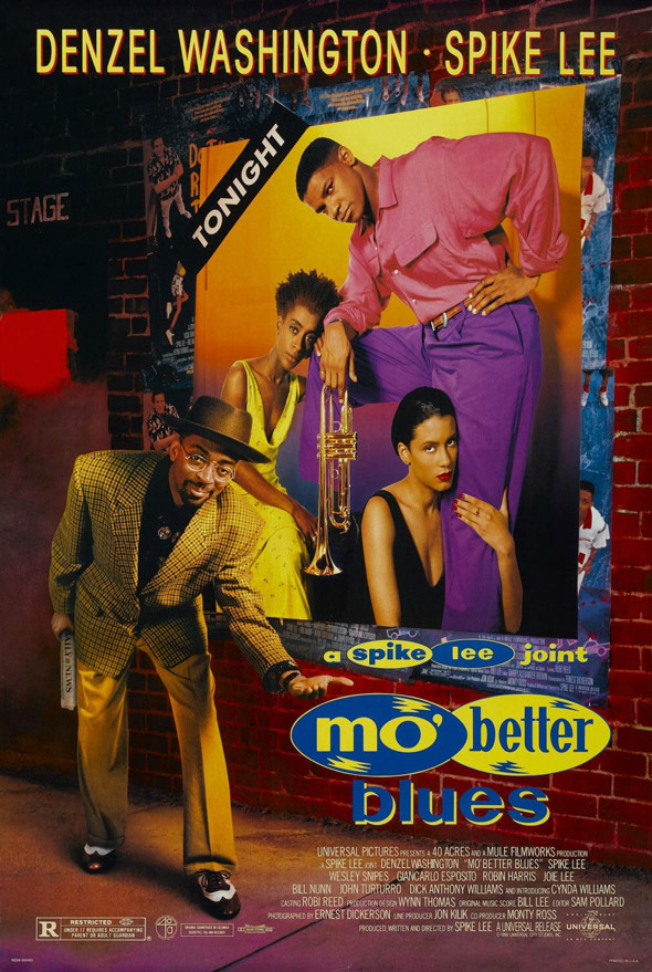 Mo' Better Blues Poster #1
