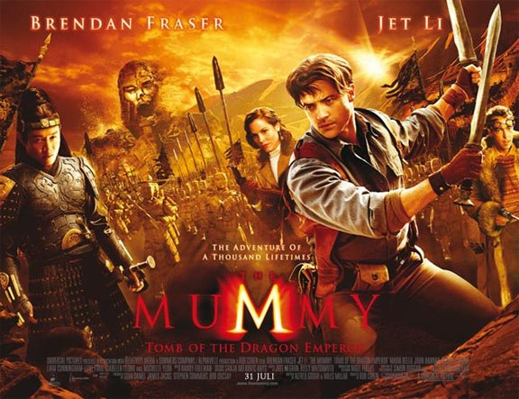 The Mummy: Tomb of the Dragon Emperor Poster #3