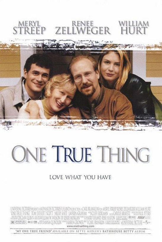 One True Thing Poster #1