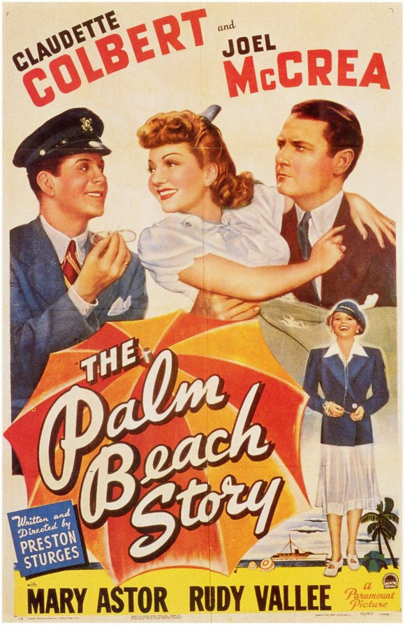 The Palm Beach Story Poster #1