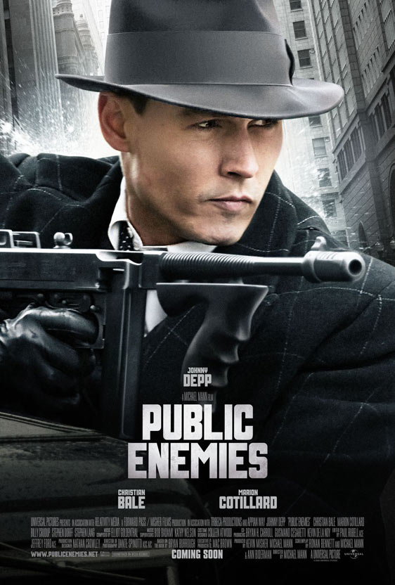 Public Enemies Poster #4