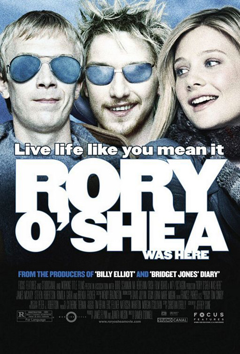 Rory O'Shea Was Here Poster
