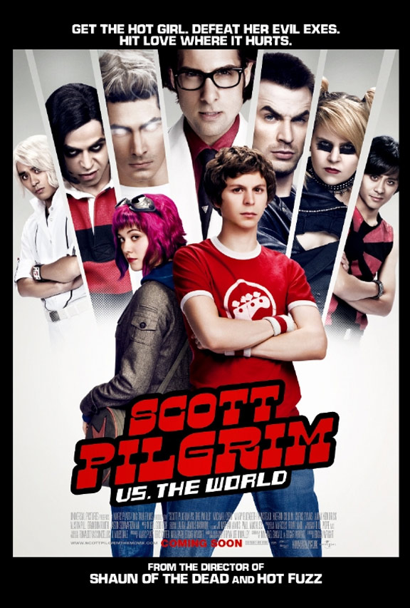 Scott Pilgrim vs. The World Poster #14