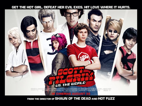 Scott Pilgrim vs. The World Poster #15