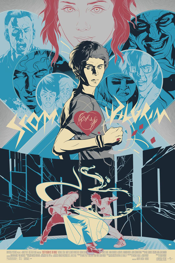Scott Pilgrim vs. The World Poster #16