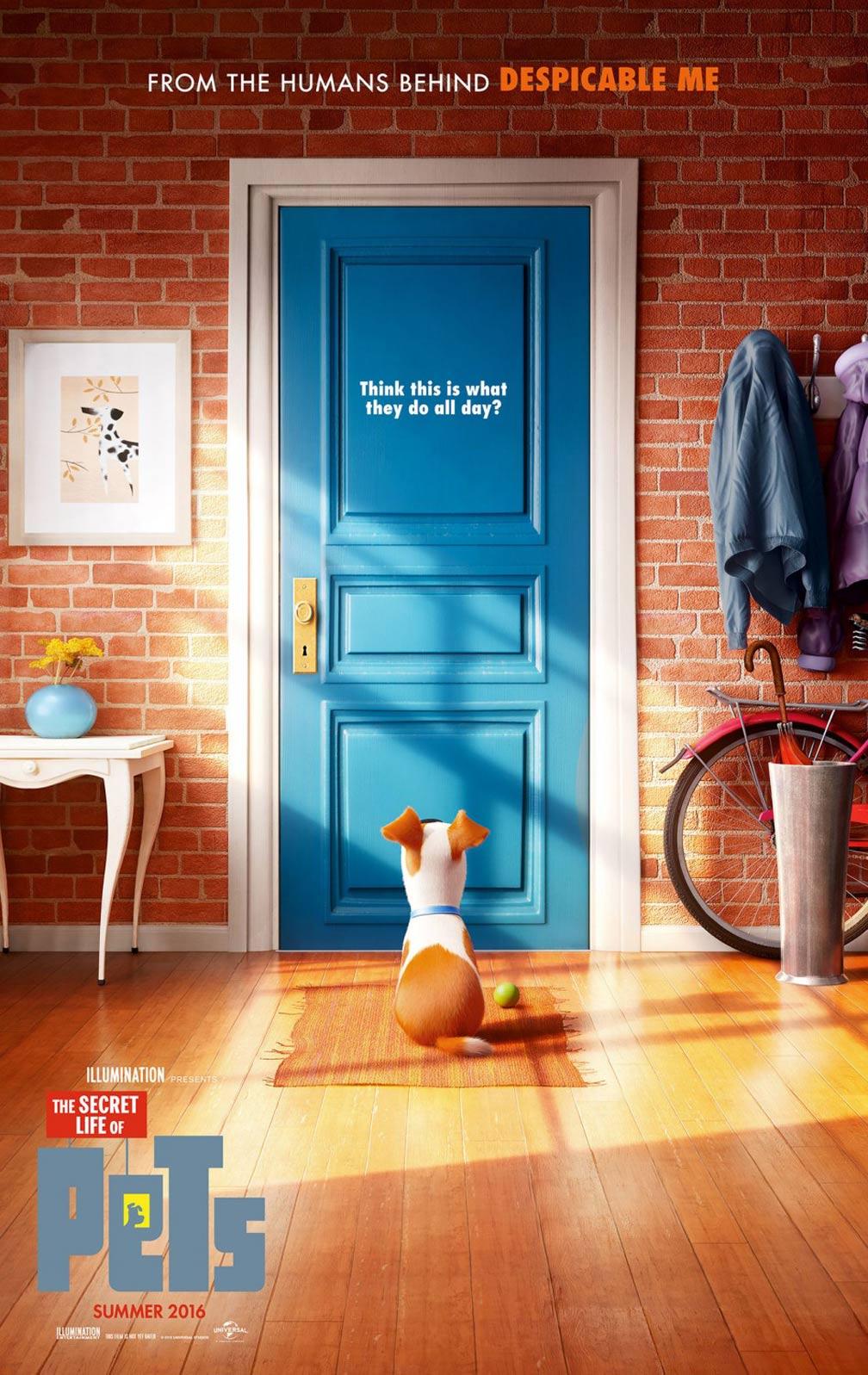 secret life pets posters traileraddict