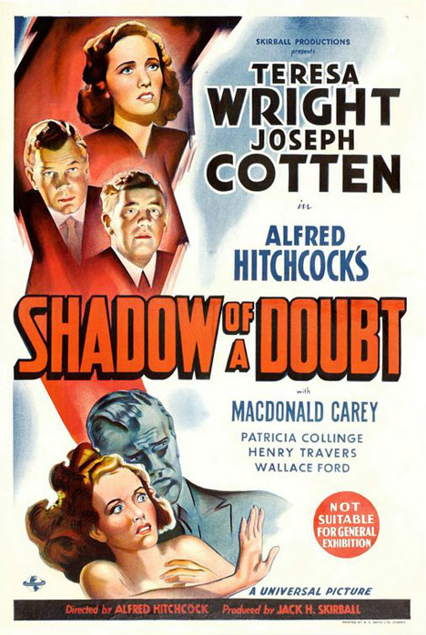 Shadow Of A Doubt Poster #1