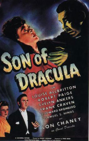 Son of Dracula Poster #1
