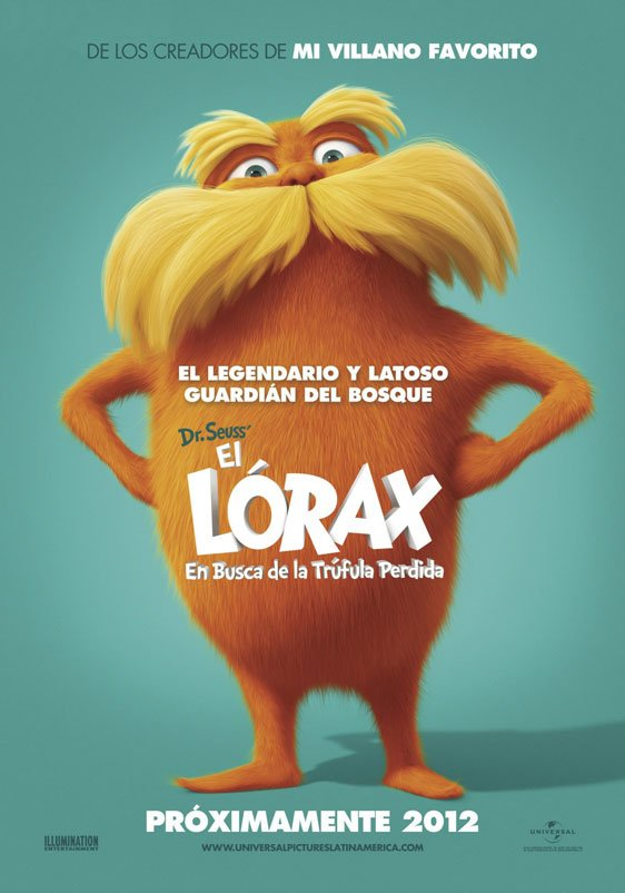 Dr. Seuss' The Lorax Poster #2