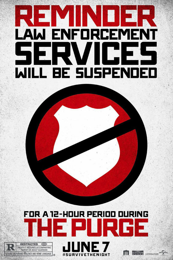 The Purge Poster #3